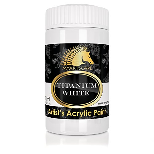 acrylic-paint-titanium-white-300ml-artist-quality-paints-for-painting-canvas-wood-clay-fabric-nail-a