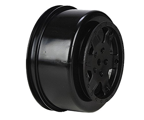 Wheel, Black (2): 22SCT - 1