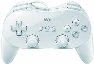(超赞)Wii Classic Controller Pro 任天堂 Wii 经典游戏手柄 白色 $12.1