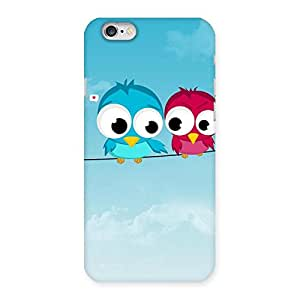 Birds on Wire Back Case Cover for iPhone 6 6S