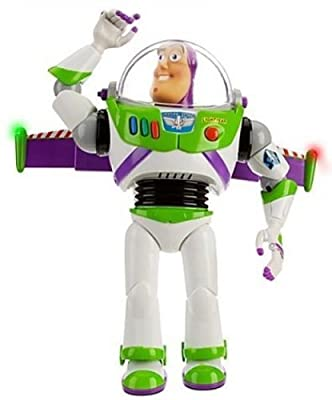 "Disney Advanced Talking Buzz Lightyear Action Figure 12"" (Official Disney Product) from Disney"