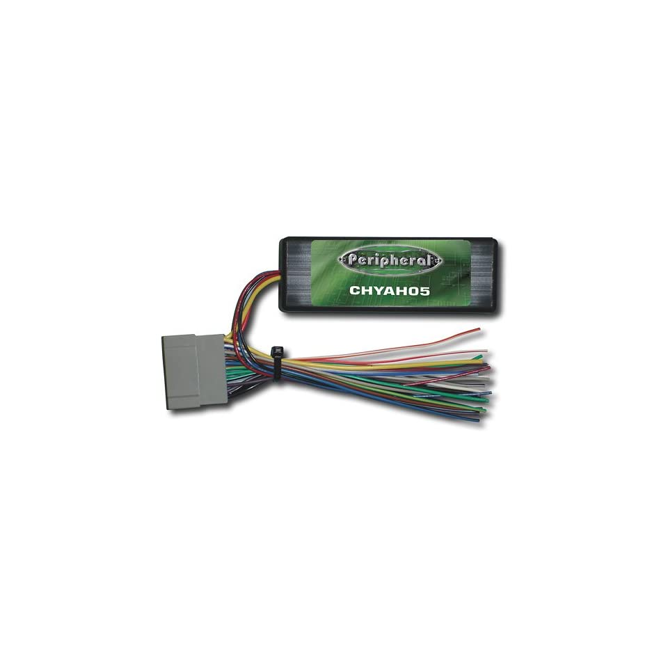 Peripheral CHYAH05 Radio Replacement Interface for 2004 and up Chrysler, Dodge, Jeep