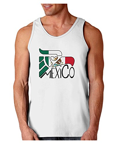 TooLoud Mexico Eagle Symbol - Mexican Flag - Mexico Loose Tank Top