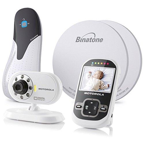Motorola Mbp26 Digital Video Sound Monitor & Babysense 5 Baby Breathing Bundle
