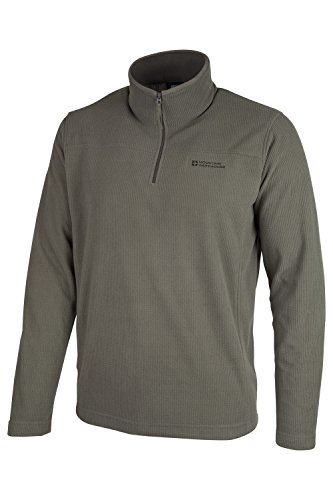 mountain-warehouse-norway-mens-layering-waffle-microfleece-sweater-khaki-medium