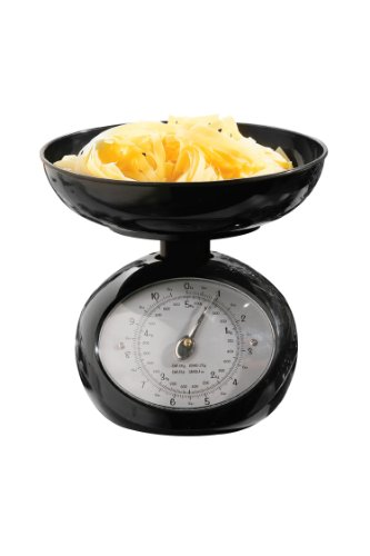 Premier Housewares 0509711 Balance de Cuisine Plastique Noir 5 kg