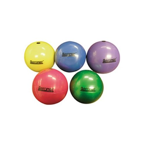 Small Squishy Exercise Ball : Soft Weight Ball (Red - 3 lbs.) Sporting Goods Exercise Fitness Medicine Balls