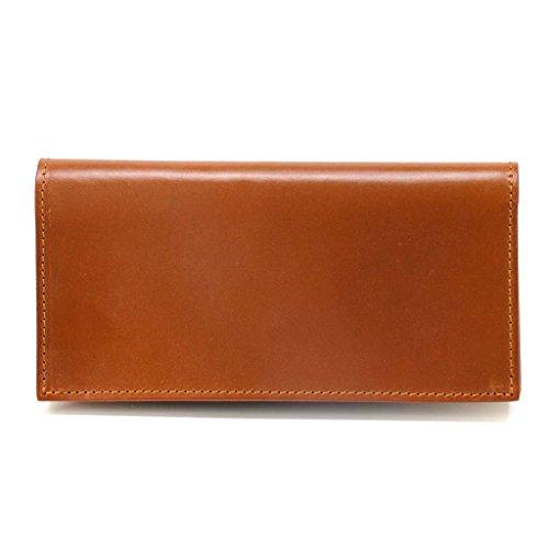 (グレンロイヤル)GLENROYAL 03-5604/long wallet without zip 長札(長財布)/小銭入れなし TAN [並行輸入品]