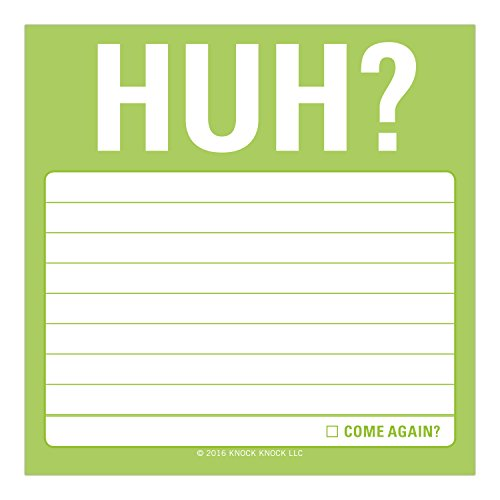 HUH?: Sticky Note