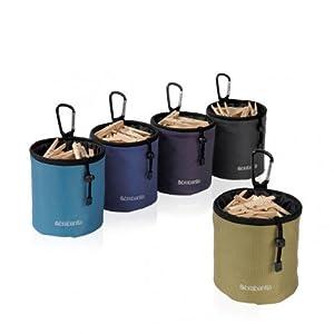 Brabantia Coloured Clothes Peg Bag - Accesorio de hogar (140 mm, 150 mm, 140 mm) [modelo surtido]   Más información y revisión del cliente