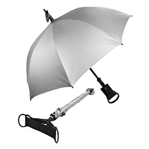 Haas-Jordan The Spectator Umbrella Walking Stick Seat Cane by Haas-Jordan