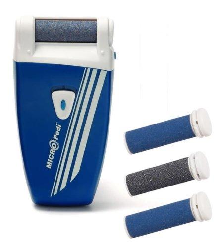 Silk'n - Micro Pedi Sport Elektrischer Hornhautentferner mit patentierter Technologie