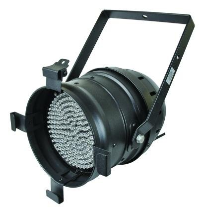 Stellar Labs 555-11402 Multi-Colored Led Par 64 Can With 183 Leds - Black Housing