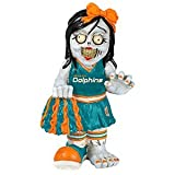 Miami Dolphins Zombie Cheerleader Figurine at Amazon.com