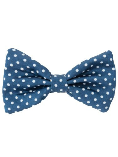 american-apparel-kids-small-bow-hair-clip-white-polka-dots-on-navy-one-size