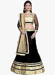 Astha Fashion Designer Party Ware Black Beautiful Lehenga