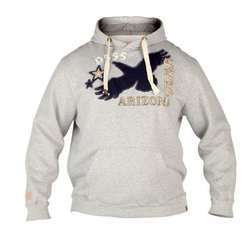 Duke Kingsize Big Mens Hooded Sweatshirt (Grey, 1XL-6XL)