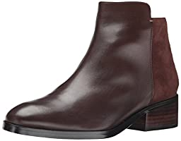 Cole Haan Women\'s Elion Boot, Chestnut Leather, 10.5 B US