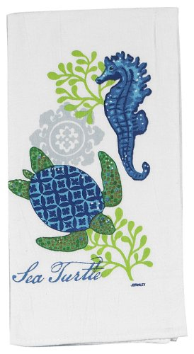 kay dee designs flour sack kitchen towel sea turtle r2503 723886525039. Black Bedroom Furniture Sets. Home Design Ideas