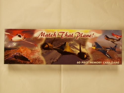 Match That Plane! 60 Piece Memory Card Game - 1
