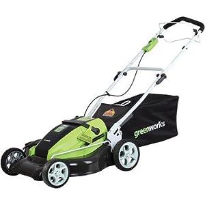 GreenWorks 25272 36-volt Self Propelled Corded Mower, 19-Inch by Sunrise Global Marketing, LLC