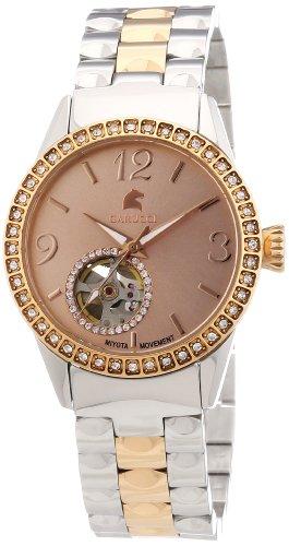 Carucci Watches ALESSANDRIA CA2197RG - Reloj analógico automático para mujer, correa de acero inoxidable