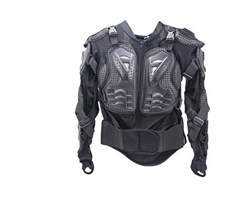 Rain G Motorcycle Full Body Armor Protector Pro Street Motocross ATV Jacket Shirt (M) (Pro Mesh Motorcycle Jacket Rain compare prices)