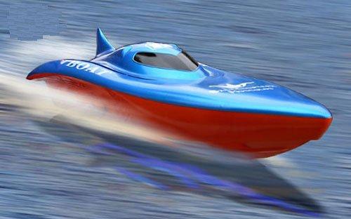 """Imagen de RC SYMA Boat Racing 22 """"R / C eléctrico de alta potencia Extremadamente Súper Fast Cruiser Balaenoptera musculus"""