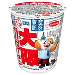 エースコック 産経新聞 大阪ラーメン 71g×12個