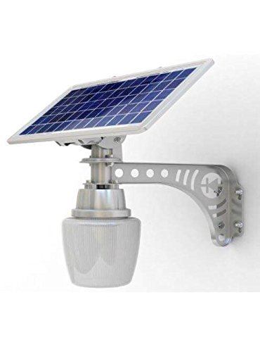 2 pack Unique REAL SOLAR PANEL Patio Safety and Security Lamp 2 Pack Residential or Commercial 800 Lumens (Proffesional Led Panel compare prices)