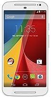 Motorola Moto G (2ème Génération) Smartphone débloqué 3G+ (Ecran: 5 pouces - 8 Go - Double SIM - Android 4.4 KitKat) Blanc (import Espagne)