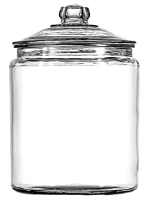 Anchor Hocking Heritage Hill Glass Cookie/Candy Jar, 1-Gallon