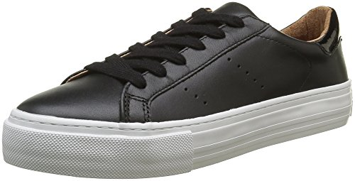 no-name-arcade-sneakers-basses-femmes-noir-altezza-leather-nero-fox-white-36-eu