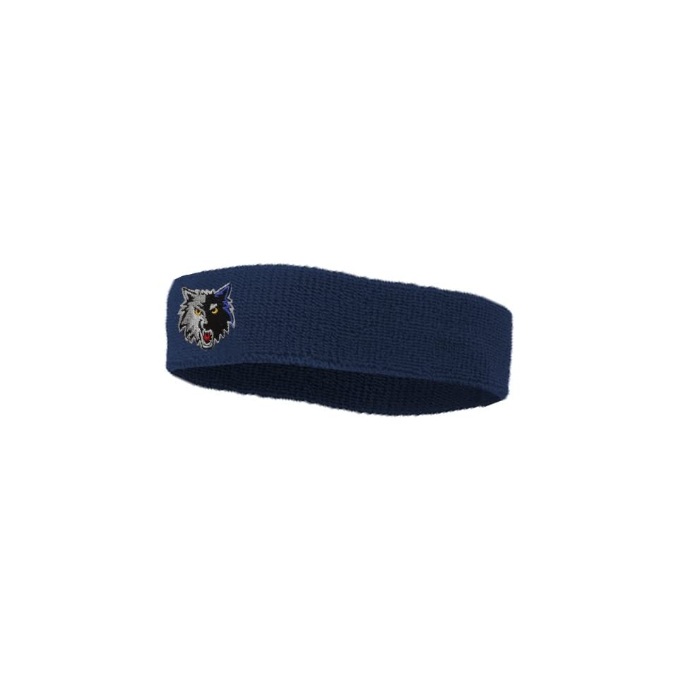 Nba Minnesota Timberwolves Team Headband Slate Blue On Popscreen