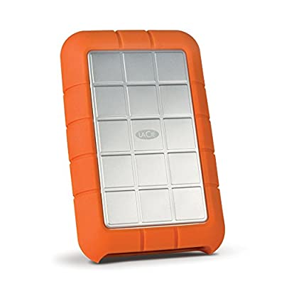 LaCie Rugged Triple 500GB (7200 rpm) USB 3.0 Silver/Orange