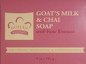 Nubian Heritage Nubian Heritage Goats Milk & Chai Soap