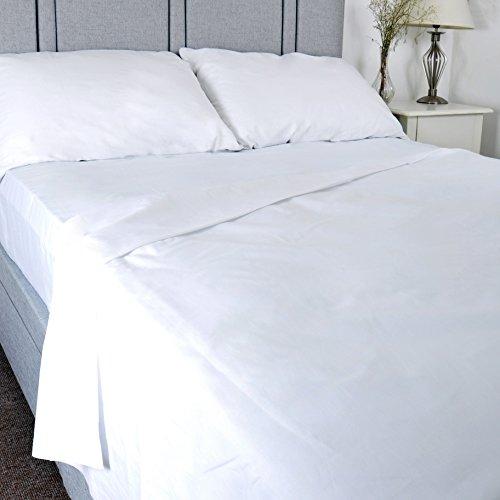 Luxurise-Baumwolle-Krankenhaus-Qualitt-FlachTop-Tabelle-Einzelbett