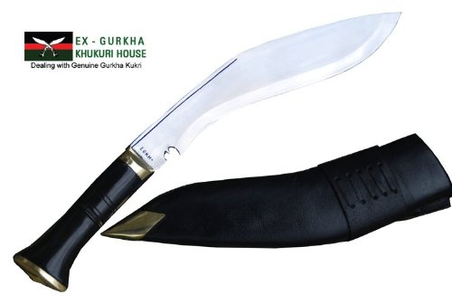 Genuine Nepal Army Service Khukuri - Authentic Gurkha Issue Kukri Knife or Khukris Handmade By Ex Gurkha Khukuri House in