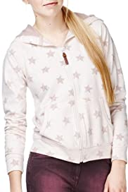 Angel Hooded Star Print Sweat Top [T74-1884A-S]