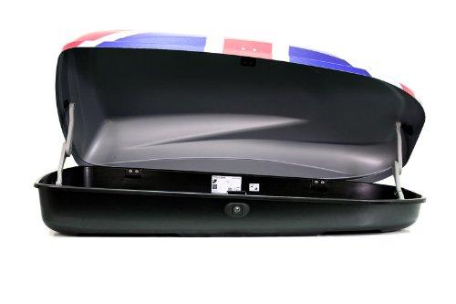 coffre de toit pour voiture g3 krono 320 drapeau britannique. Black Bedroom Furniture Sets. Home Design Ideas