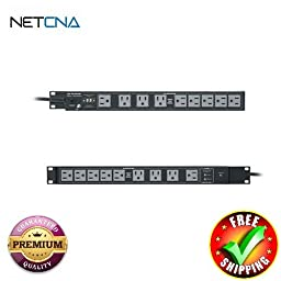 PD-1815R-RN Multi-Mount Power With Free 6 Feet NETCNA HDMI Cable - BY NETCNA
