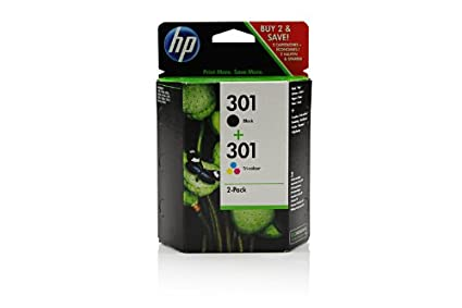 HP - Hewlett Packard DeskJet 3050 (301 / CR 340 EE) - original - 2 x Printhead multi pack (black, cyan, magenta, yellow) - 355 Pages
