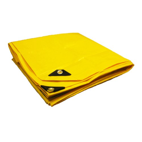 16′ X 24′ Heavy Duty Premium Yellow Tarp