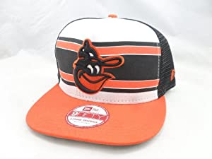 New Era 9FIFTY Snapback Hat Baltimore Orioles Band Slap by New Era