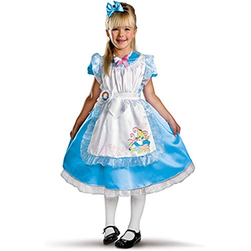 Deluxe Alice in Wonderland Costume - Medium