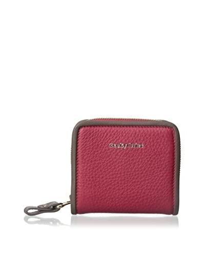 See by Chloé Women's Zip Wallet, Red Scarlet