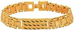 Handicraft Kottage Brass Gold Plated Bracelet for Men (Diwali Offer) (AGBR 020)