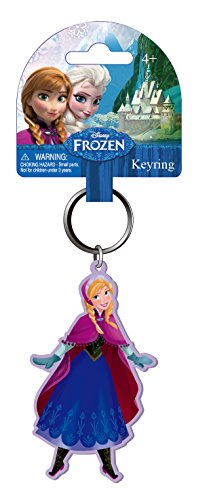 Disney Anna Soft Touch Key Ring - 1