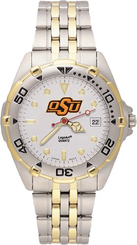 Ncaa Oklahoma State Cowboys All Star Watch Stainless Steel Bracelet