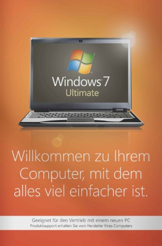 Windows 7 Ultimate 32 Bit OEM inkl. Service Pack 1 (Frustfreie Verpackung), PC